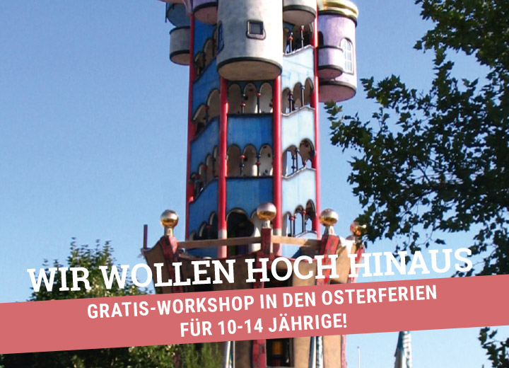 Gratis-Workshop in den Osterferien für 10-14 Jährige!